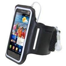medscaleU1248 Samsung Galaxy S 2 Black Anti-Slip Armband Open